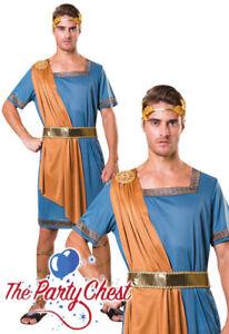 watch 5b439 55e07 Dettagli su Adulto Costume imperatore greco uomo Antica Roma Toga CESAR  Costume Vestito F067- mostra il titolo originale