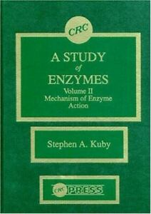 Study-of-Enzymes-Mechanism-of-Enzyme-Action-Hardcover-by-Kuby-Stephen-A