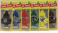 24 Little Tree Car Air Fresheners Classic Assorted 24 Single Packs