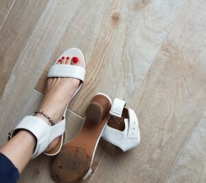 outlet store 04979 8b9ea Dettagli su Scarpe donna usate, sandali alti usate scarpe fetish,sandali  alla schiava usati