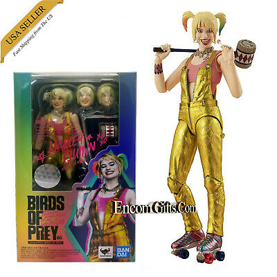 Bandai S.H In-Stock Figuarts Harley Quinn Birds of Prey action figure