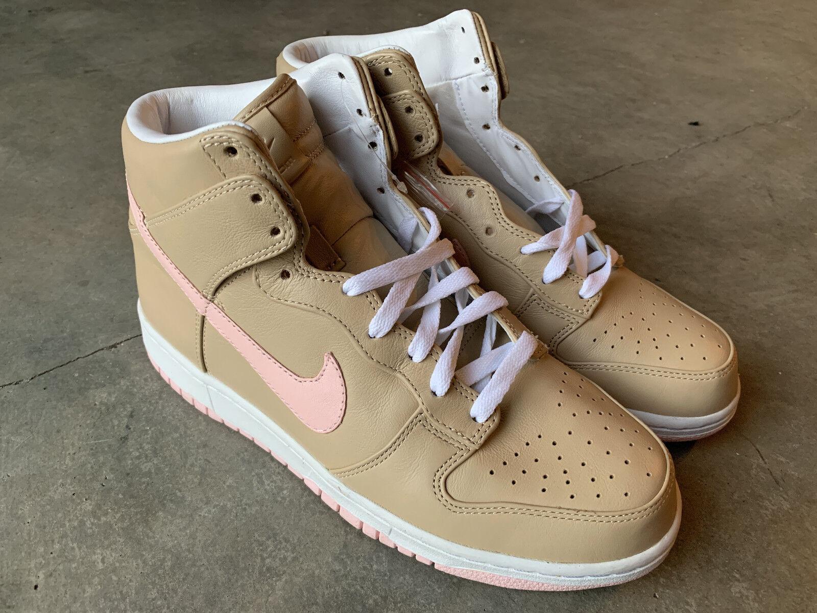 Nike Dunk Premium High SP Linen 624512 200 Size 9