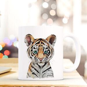 Trinklerntassen & -becher Tassen Tasse Becher Tiger Raubkatze Geschenk Kaffeetasse Tigertasse Kaffeebecher Ts746 Hell Und Durchscheinend Im Aussehen
