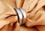 Anelli-Anello-Coppia-Fedi-Fede-Fedine-Fidanzamento-Nuziali-Cristallo-Oro-Argento miniatura 4