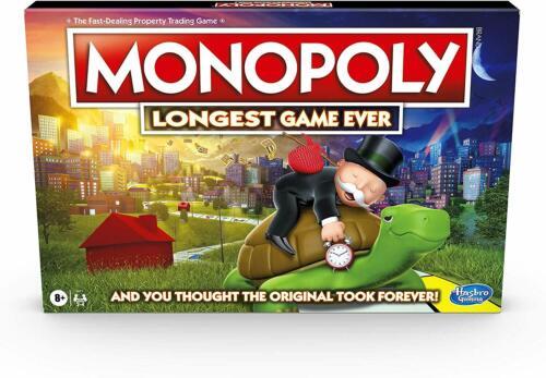 Monopoly le plus long jeu jamais
