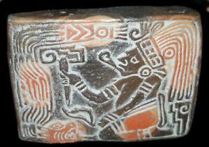 Medieval Religion  |Maya Sacrifice Stamp
