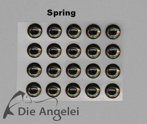 Farben//Größen 3D-Epoxy-Living Eyes Realistische 3D-Augen in versch 20 Stück