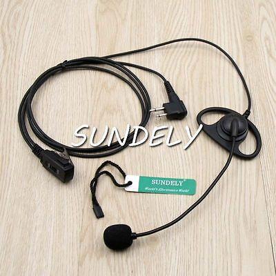 HQRP Headset Earpiece for Motorola Mag One BPR-40 EP-450 AU-1200 AV-1200 PR-400