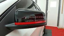 MERCEDES AMG Edizione 1 SPECCHIO TAPPO RIGHE ROSSE una classe a200 a45 cla45 gla45 c63