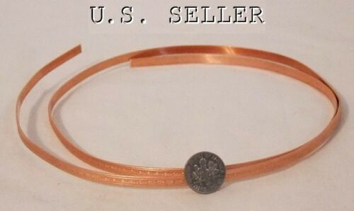 Mini Beaded Patterned Copper Wire 3 Foot Package 5mm Wide