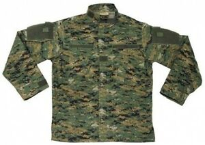 New-Mens-US-Army-Style-ACU-FIELD-RIPSTOP-Jacket-DIGITAL-WOODLAND-CAMO