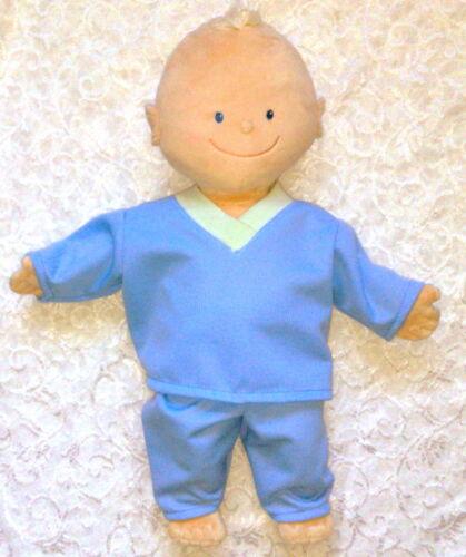 Kleidung Schlafanzug blau passend für KRÜMEL  43 cm  Neu