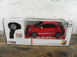 MONDO MOTORS Fiat 500 Abarth 1:14 MACCHINA TELECOMANDATA