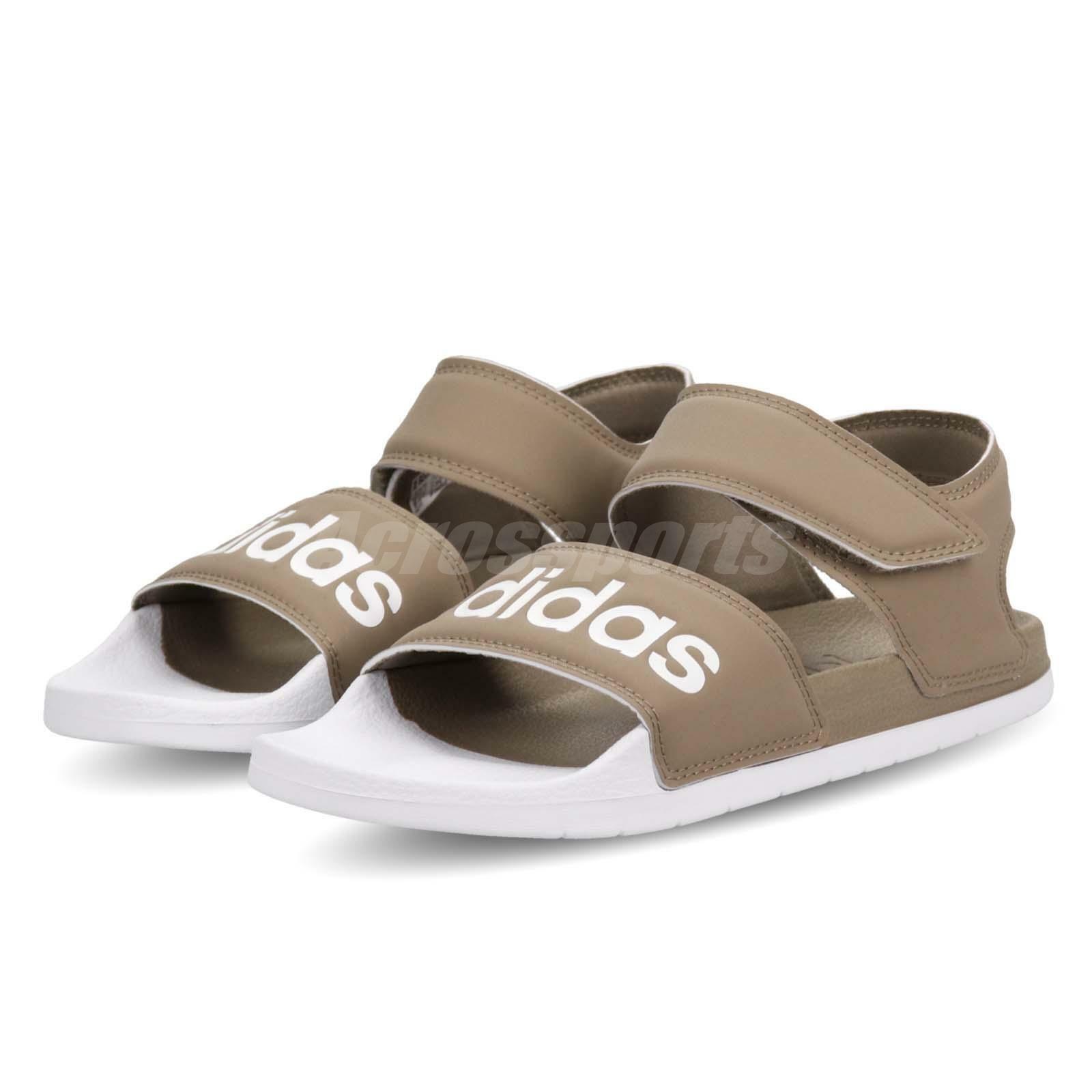 Adidas Adilette Sandal Cargo White Men Women Slip On Sports shoes F35414
