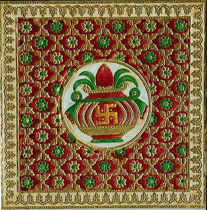Minakari-Indian-Art-Handmade-Floral-Pattern-Jaipur-Meenakari-Ethnic-Decor-Art