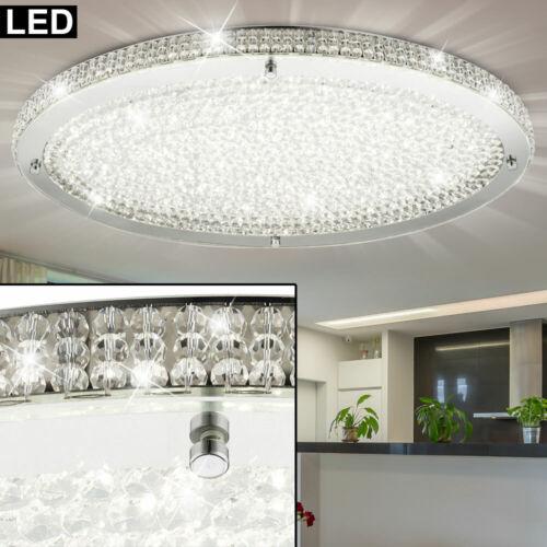 LED Luxus Kristall Decken Lampe Schlaf Zimmer Beleuchtung Chrom Strahler Leuchte