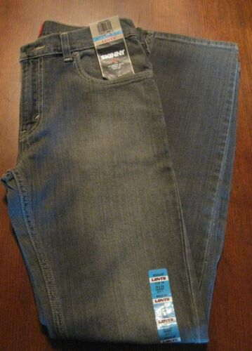 "Levi's 511 Boy's Jeans Skinny 16R 28"" Waist 28"" in or 18R 29"" waist 29"" in, New"
