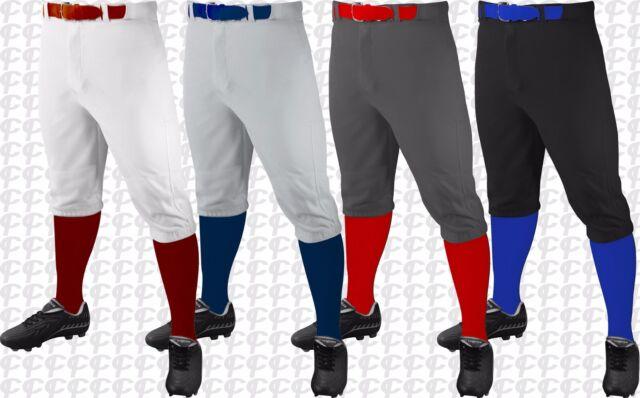 Champro Youth Triple Crown Knicker Pants Small Graphite Baseball & Softball