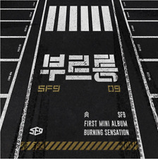 "K-POP SF9 1st Mini Album ""Burning Sensation"" [ Photobook + CD }"