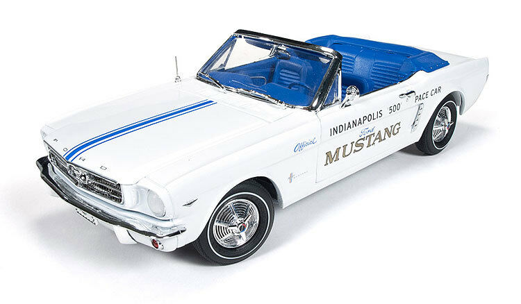 1964 1/2 Ford Mustang Indy 500 Pace Car Diecast Model