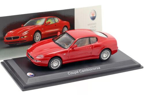 Maserati Coupe Cambiocorsa año de fabricación 2002 rojo 1:43 leo Models