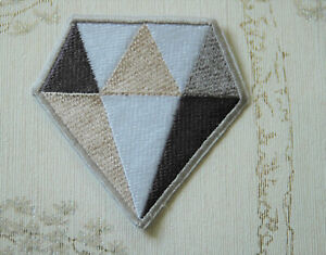 Embroidered iron on patch: Steven Universe White Diamond.
