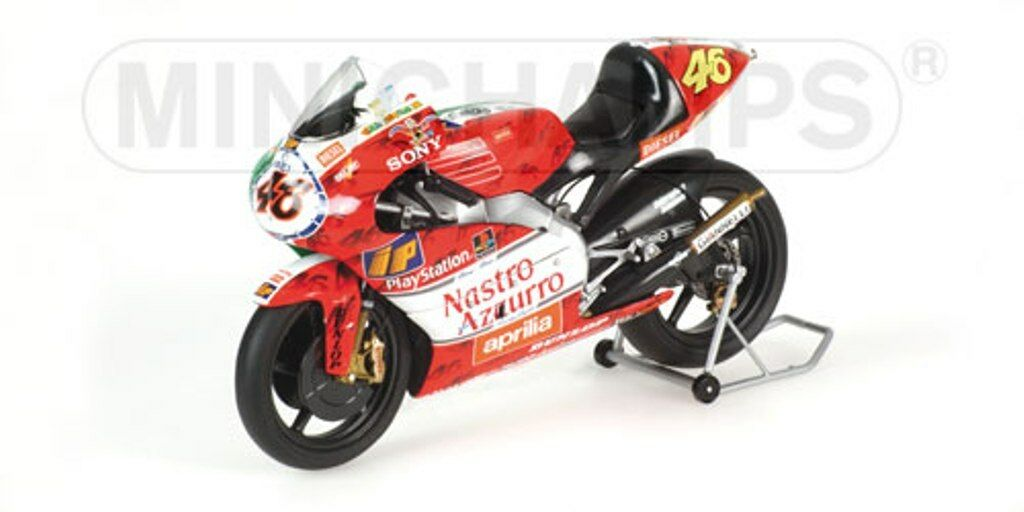 MINICHAMPS 122 990046 990086 990096 APRILIA 250ccm model Fahrrads ROSSI 1999 1 12th