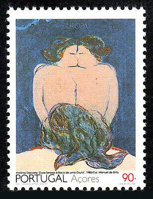 Zwei Mermaids Am Einschlupfen Auf Cave Postfrisch Europa Portugal Azores 414 Husten Heilen Und Auswurf Erleichtern Und Heiserkeit Lindern