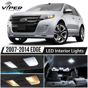Image Is Loading   Ford Edge White Interior Led Lights