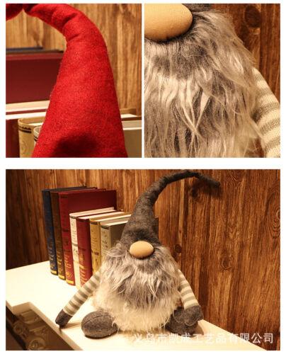 Swedish Lucky Gnome//Tomte Santa Claus Christmas Dolls Home Decor Xams Toy Gift