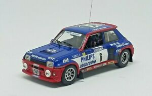 UNIQUE-1-43-R-5-Turbo-TDC-PHILIPS-SABY-RALLYE-MILLE-PISTES-1984