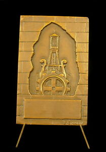 Medal-le-Normandy-and-le-Chime-Town-de-Douai-Sc-the-of-Crunelle-69-mm-Medal