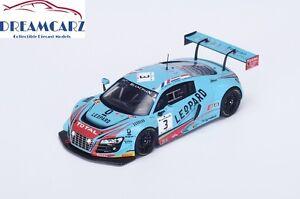 Spark-SB118-1-43-Audi-R8-LMS-Ultra-24hrs-Spa-2015-limited-300-pcs