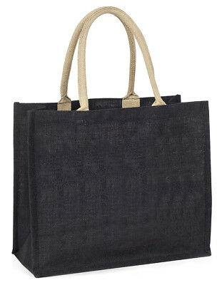 niedliche Fischotter  Soulmates  große schwarze Einkaufstasche