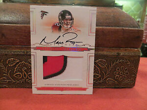 National Treasures Rookie On Card Autograph Jersey Falcons Matt Ryan 28/99  2008