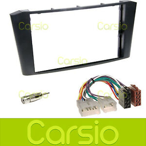 toyota avensis t25 double din fascia panel stereo surround. Black Bedroom Furniture Sets. Home Design Ideas
