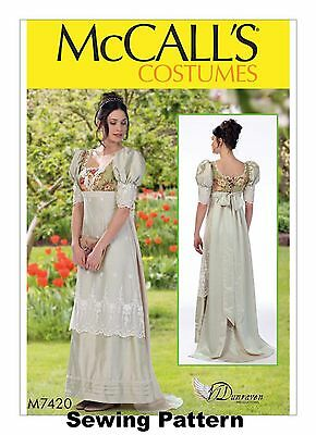 McCalls M7420 PATTERN - Misses Costume - Sizes 6 - 22- New