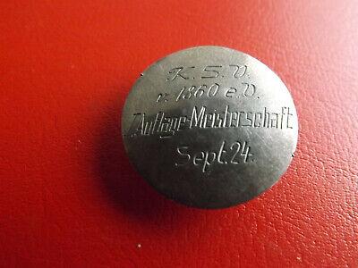 Gerade Eistecker/pin/knopf? Kieler Schützen Verein 1923 *silber/ca.5g.-25mm(kof2)