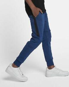 ec002057f999 NIKE Sportswear Tech Fleece Jogger Pants Blue 804818 431 Boys M NEW ...