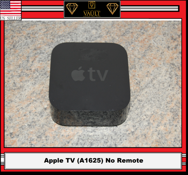 Apple TV (4th Generation) HD Media Streamer - Black NO REMOTE