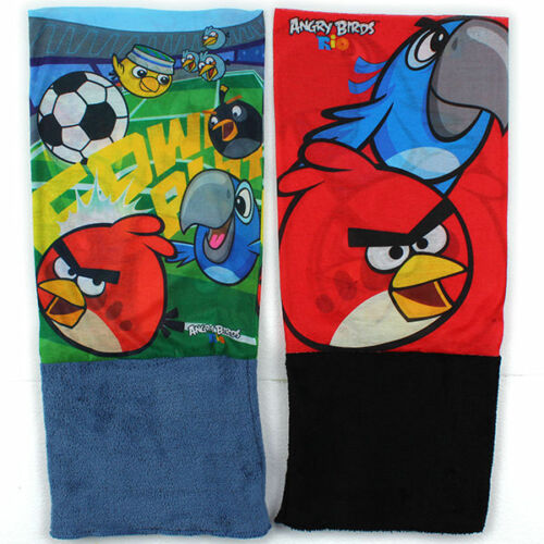 Angry Birds Schlauchschal Snood Kinder Jungen Schal Tuch Mütze Halstuch neu!