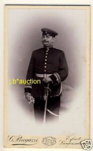 SOLDAT-SOLDIER-IN-UNIFORM-Vintage-German-CDV-Carte-de-Visite