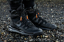 Nike Lupinek Flyknit ACG Black/Anthracite Men's Athletic Shoes Size 6