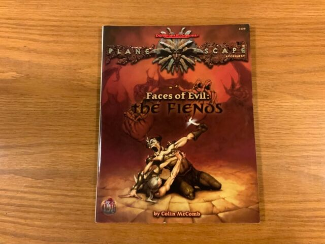 Faces of Evil: The Fiends (AD&D   Planescape)