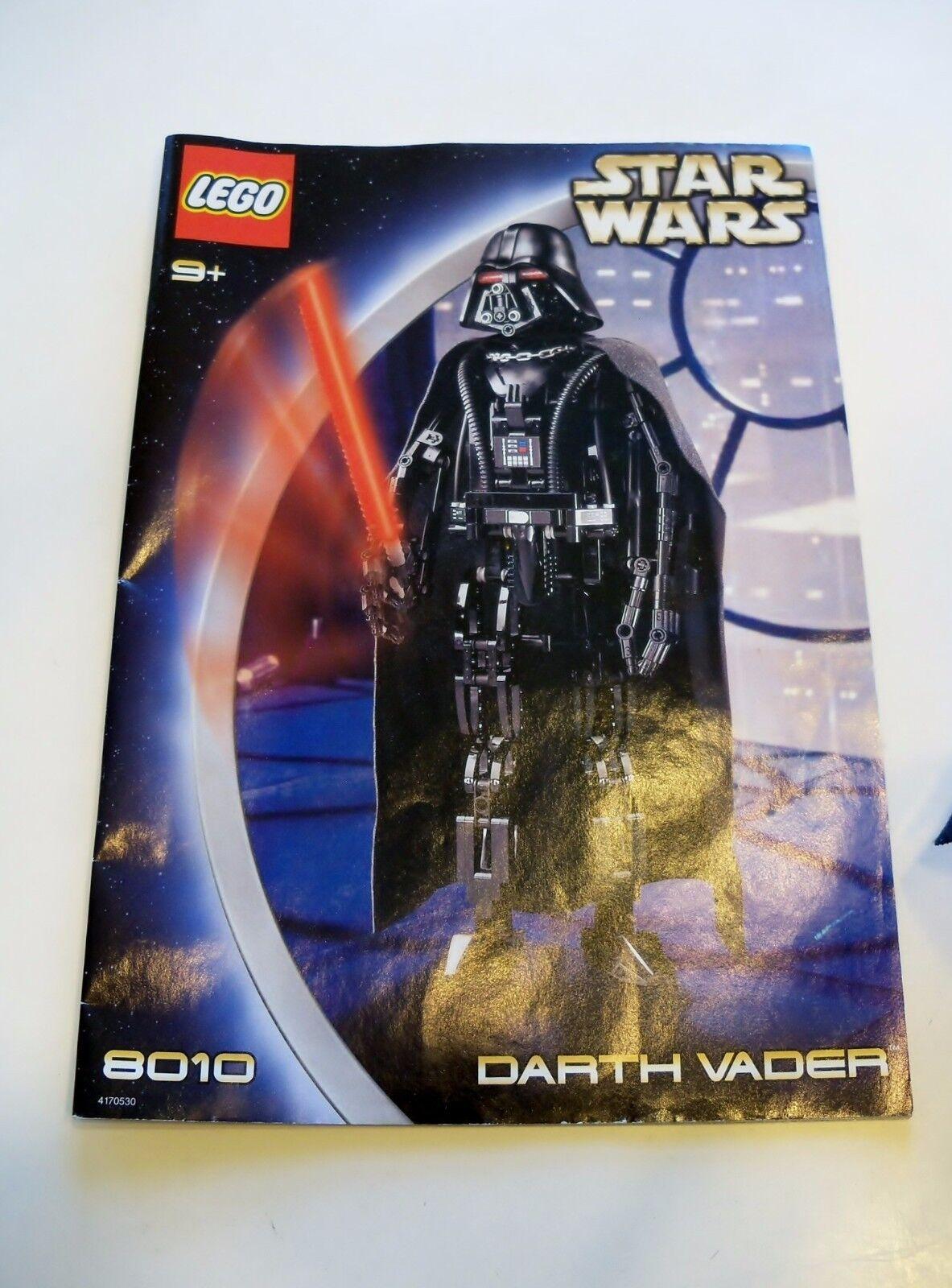 LEGO Star Wars - Super Rare Technic 8010 Darth Vader Vader Vader - Complete w  Instructions b16772
