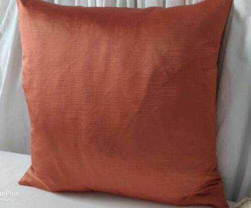 "45 x 45 cm Orange Spice Terracotta Cushion Cover 18/"" X 18/""   designer fabric"