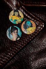 Vladimir Tretchikoff - JH Lynch - Retro Button Badges - 1960s'70s - Kitsch
