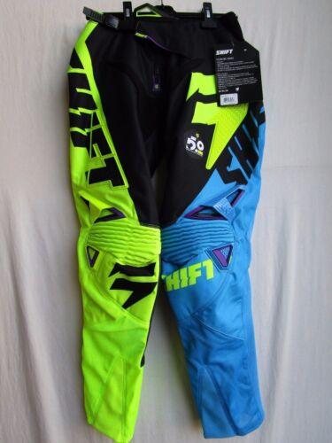 MENS adult motocross combo set;SHIFT FACTION pants 30,TARMAC jersey MEDIUM