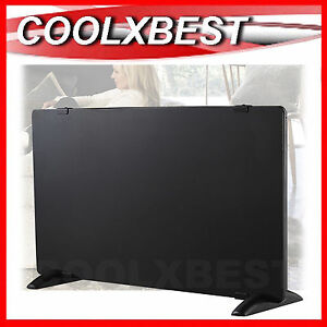 NEW-2000W-BLACK-GLASS-ELECTRIC-PANEL-HEATER-THERMOSTAT-ECO-CONVECTION-HEAT