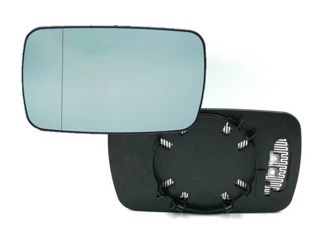 Cristal de Retrovisor Espejo Exterior Izquierda Calentado Azul BMW 3 E46 5 E39 7
